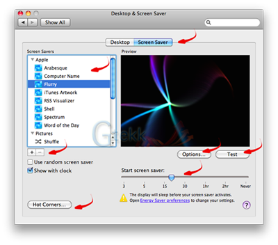 how to add songs to mac screensaver
